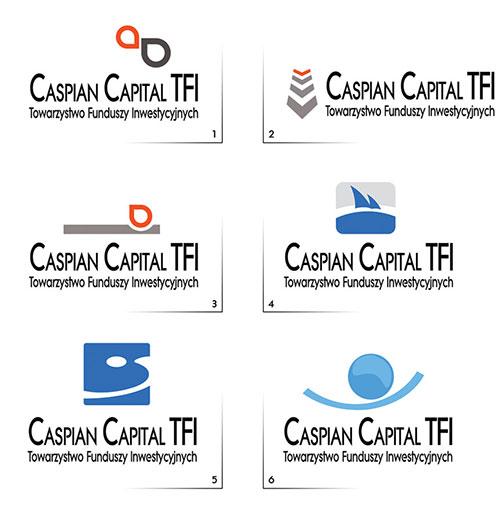 Caspian Capital logo designs