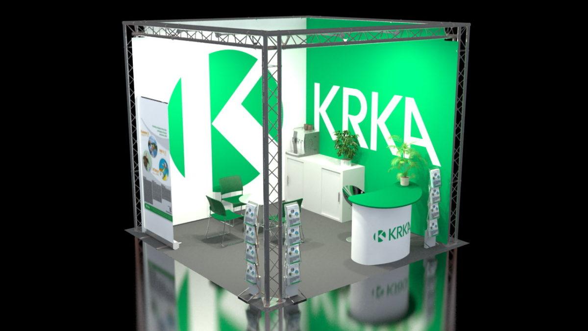 KRKA expo stand viz no. 11