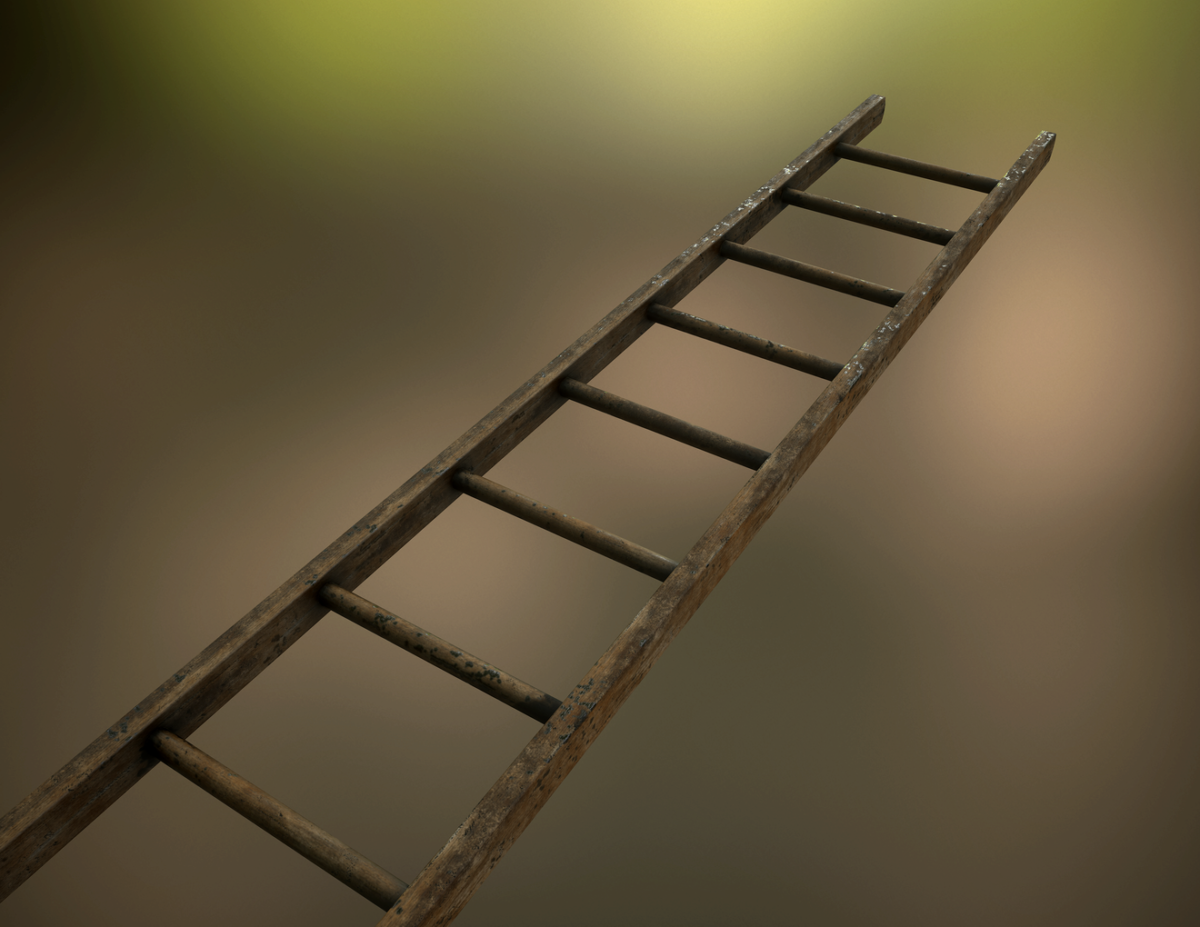 Low-Poly Ladder